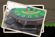 blackjack table rental